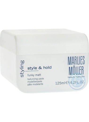 Marlies Möller Essentıal Stylıng Modellıng Matt Paste 125 Ml Renksiz
